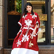 Одежда handmade. Livemaster - original item Abaya Embroidered, Arabic Style Dress. Handmade.