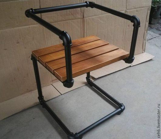 Мебель ручной работы. Ярмарка Мастеров - ручная работа. Купить Стул из труб. Handmade. Стул, столовая, Кафе, лофт