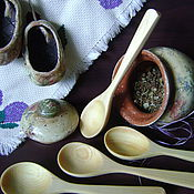 Посуда ручной работы. Ярмарка Мастеров - ручная работа Ложка кедровая. Handmade.