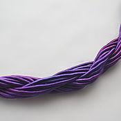 Материалы для творчества handmade. Livemaster - original item Thick viscose cord (no. №38), price per 1 meter. Handmade.