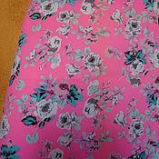 Одежда handmade. Livemaster - original item Skirt summer bright cotton stretch. Handmade.