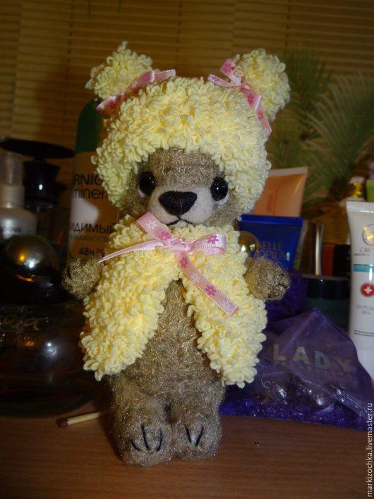 Мишки Тедди ручной работы. Ярмарка Мастеров - ручная работа. Купить Мишка Софочка. Handmade. Коричневый, мишки тедди, ирис