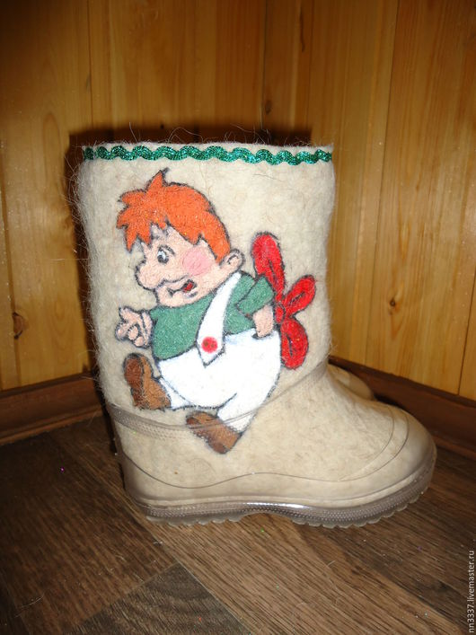 """Обувь ручной работы. Ярмарка Мастеров - ручная работа. Купить Валенки детские """" Карлсон"""". Handmade. Валенки, валенки для девочки"""
