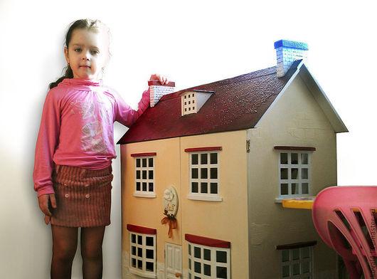 Кукольный дом ручной работы. Ярмарка Мастеров - ручная работа. Купить кукольный домик. Handmade. Кукольный дом, кукольная миниатюра