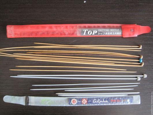 Вязание ручной работы. Ярмарка Мастеров - ручная работа. Купить Спицы в наборе. Handmade. Комбинированный, дерево
