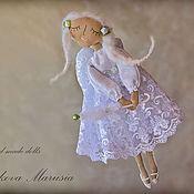 """Куклы и игрушки ручной работы. Ярмарка Мастеров - ручная работа """"Ангел весеннего дождя"""" - авторская кофейная куколка. Handmade."""