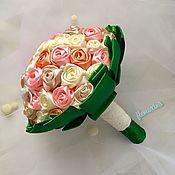 Свадебные букеты ручной работы. Ярмарка Мастеров - ручная работа Свадебный букет «Исабель». Handmade.