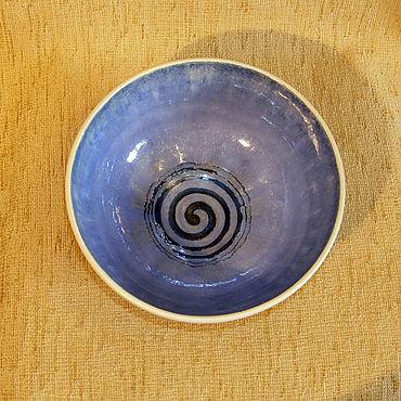 """Посуда ручной работы. Ярмарка Мастеров - ручная работа Салатник, блюдо, ваза """"спираль"""". Handmade."""