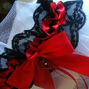 """Свадебный салон ручной работы. Ярмарка Мастеров - ручная работа Подвязка """"RED"""". Handmade."""