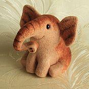 Куклы и игрушки ручной работы. Ярмарка Мастеров - ручная работа Слон полосатый.. Handmade.