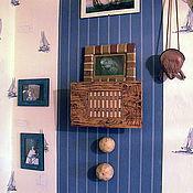 Посуда ручной работы. Ярмарка Мастеров - ручная работа Доска для ч. церемонии - полочка. Handmade.