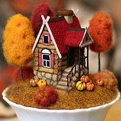 Для дома и интерьера handmade. Livemaster - original item Fabulous house AUTUMN. Handmade.