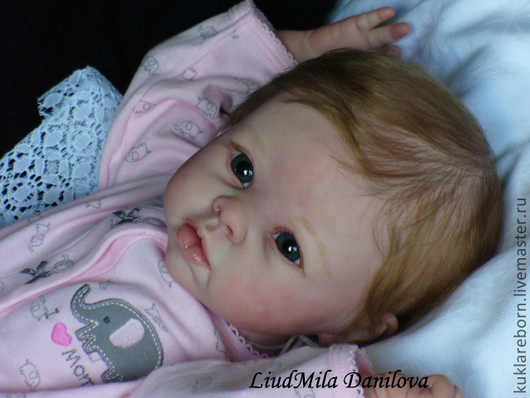 Куклы-младенцы и reborn ручной работы. Ярмарка Мастеров - ручная работа. Купить Криста3. Handmade. Кукла реборн, мохер