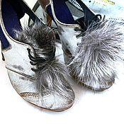 Обувь ручной работы. Ярмарка Мастеров - ручная работа Ботиночки Шабли. Handmade.