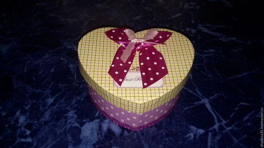 Упаковка ручной работы. Ярмарка Мастеров - ручная работа. Купить Подарочная коробочка 01/03. Handmade. Фиолетовый, картонная коробочка, упаковка