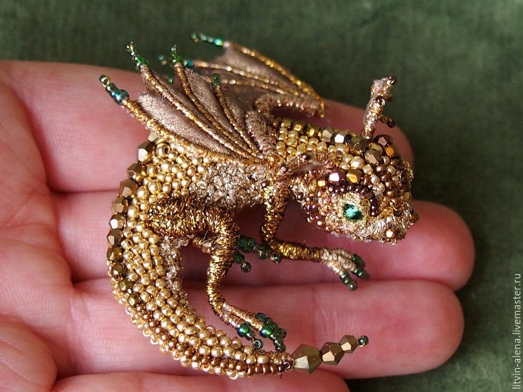 Бисер своими руками дракон 19