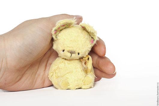 Мишки Тедди ручной работы. Ярмарка Мастеров - ручная работа. Купить Зайчик Одуванчик. Handmade. Желтый, зайка тедди, шплинты