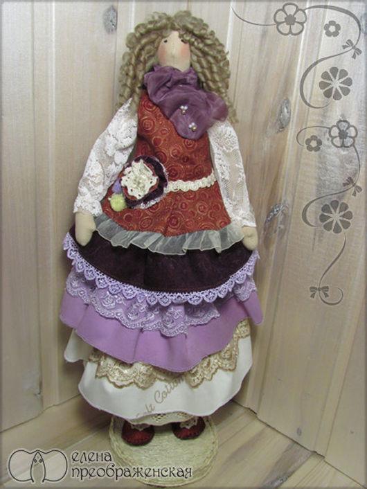 Кукла в стиле Бохо-шик