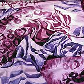 """Материалы для творчества ручной работы. Ярмарка Мастеров - ручная работа Трикотаж  """"Сиреневый сад"""". Handmade."""
