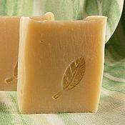 Косметика ручной работы. Ярмарка Мастеров - ручная работа Натуральное мыло на отваре льна мыло с нуля, эко-мыло. Handmade.