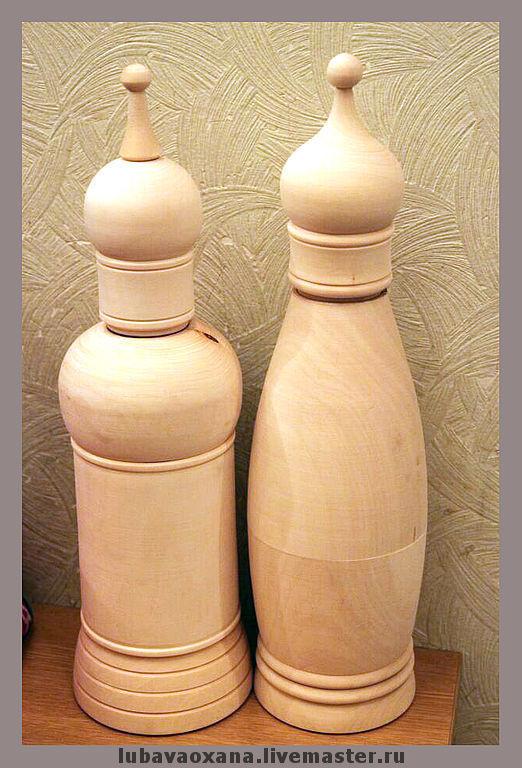 Декупаж и роспись ручной работы. Ярмарка Мастеров - ручная работа. Купить Футляры для бутылок. Handmade. Заготовки, винный короб, короб