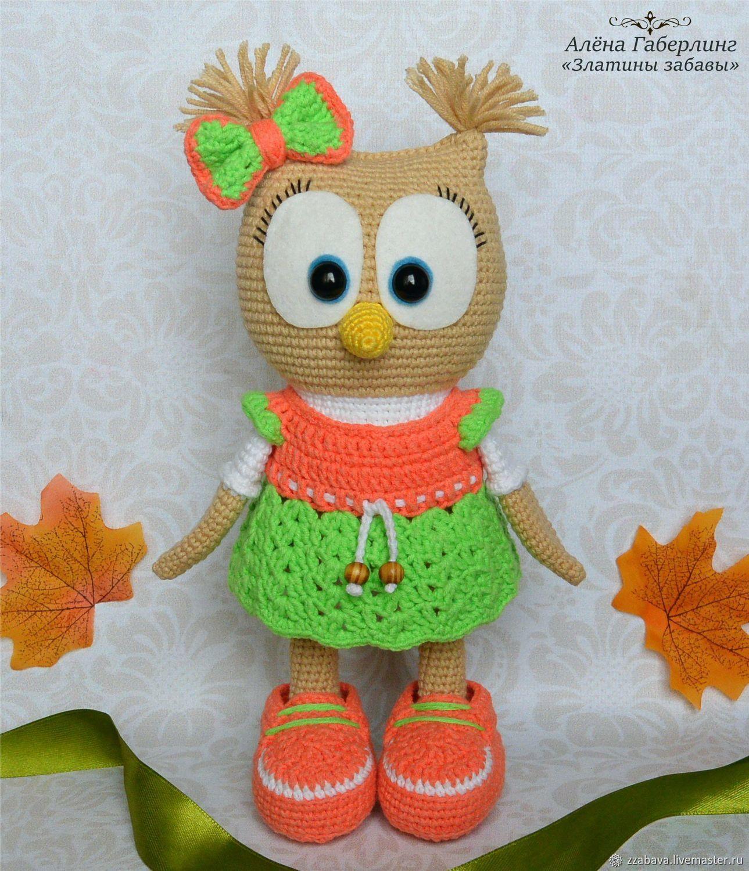 Dolly owl-toy, crochet, Stuffed Toys, Tomsk,  Фото №1