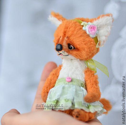 Мишки Тедди ручной работы. Ярмарка Мастеров - ручная работа. Купить Лисичка Ева.  fox pup тедди лис, коллекционная игрушка. Handmade.
