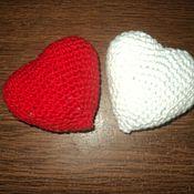Подарки к праздникам handmade. Livemaster - original item Hearts crochet. Handmade.