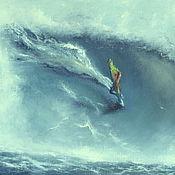 Картины и панно ручной работы. Ярмарка Мастеров - ручная работа Виндсерфинг II. Handmade.