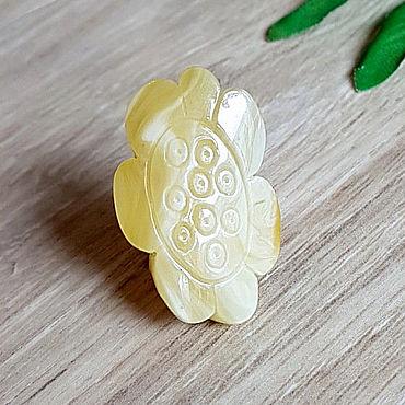 Decorations handmade. Livemaster - original item Amber. Ring