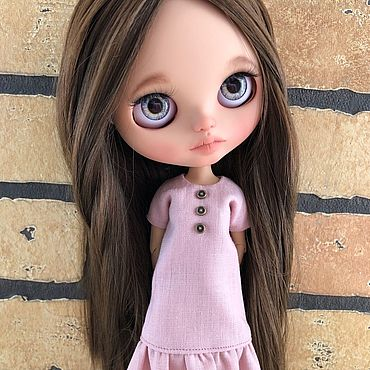 Куклы и игрушки ручной работы. Ярмарка Мастеров - ручная работа Кукла Блайз кастом ( шарнирное тело ). Handmade.