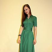 Одежда ручной работы. Ярмарка Мастеров - ручная работа Длинное платье. Handmade.