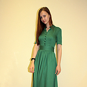Одежда handmade. Livemaster - original item Long dress. Handmade.