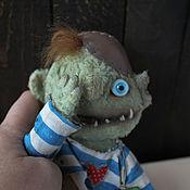 Куклы и игрушки ручной работы. Ярмарка Мастеров - ручная работа Монстр Квази-морда. Handmade.
