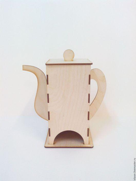 IVL-118-3-200 Чайный домик Чайник, заготовки для декупажа