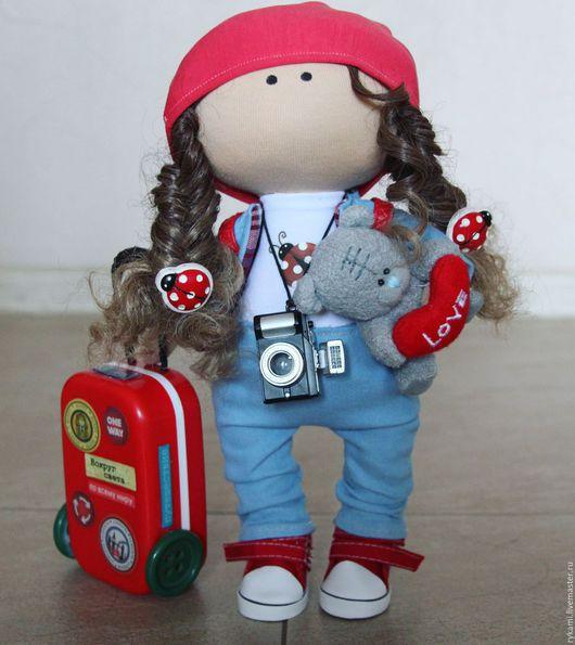 Куклы тыквоголовки ручной работы. Ярмарка Мастеров - ручная работа. Купить Текстильная интерьерная кукла. Handmade. Комбинированный, интерьерная кукла