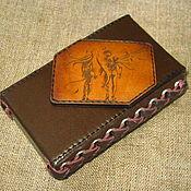 Сумки и аксессуары handmade. Livemaster - original item Angel and Demon. Cigarette case. sigaretta.. Handmade.