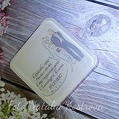 Свадебный салон ручной работы. Ярмарка Мастеров - ручная работа Свадебные бонбоньерки, комплимент гостям. Мыло ручной работы. Handmade.
