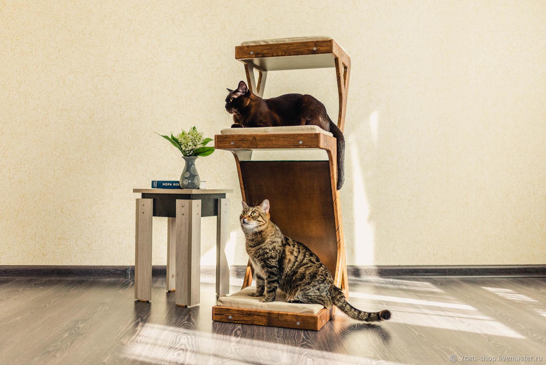 Аксессуары для кошек, ручной работы. Ярмарка Мастеров - ручная работа. Купить Дерево для кошек. Handmade. Кот, мебель для кошек