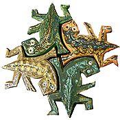 Дизайн и реклама ручной работы. Ярмарка Мастеров - ручная работа декоративная плитка. Handmade.