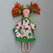 Куклы и игрушки ручной работы. Ярмарка Мастеров - ручная работа Кукла Мила - Рождественский ангел. Handmade.