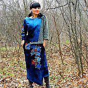 Одежда ручной работы. Ярмарка Мастеров - ручная работа Костюм женский с вышивкой (№212). Handmade.