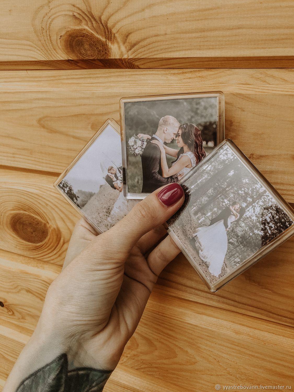 Акриловые магниты с вашим фото, приглашение на свадьбу магнит, Фото, Павлово,  Фото №1