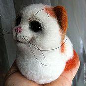 Куклы и игрушки ручной работы. Ярмарка Мастеров - ручная работа кошка Милашка. Handmade.