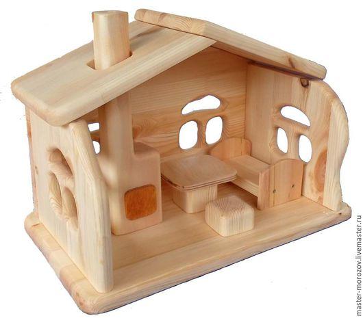 Кукольный дом ручной работы. Ярмарка Мастеров - ручная работа. Купить Домик для кукол. Handmade. Кукольный дом, натуральные материалы