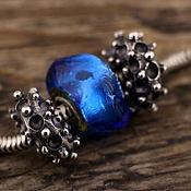 """Украшения ручной работы. Ярмарка Мастеров - ручная работа """"Sacred shape"""" серебряные бусины для браслетов в стиле пандора. Handmade."""