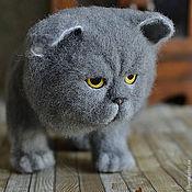 Куклы и игрушки ручной работы. Ярмарка Мастеров - ручная работа Лунный кот. Handmade.