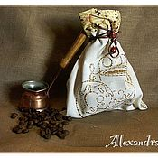 """Кармашки ручной работы. Ярмарка Мастеров - ручная работа Мешочек для всякого-разного """"Завтрак"""". Handmade."""