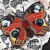 """Украшения ручной работы. Ярмарка Мастеров - ручная работа Брошь """"Бабочка"""". Handmade."""