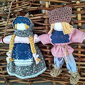 Свадебный салон handmade. Livemaster - original item Amulet dolls Lovebirds. Handmade.